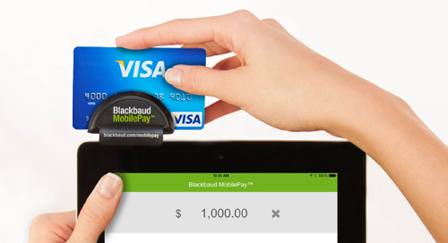 10/24: Taking Payments with Blackbaud MobilePay (Webinar)