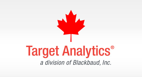10/12: Canadian Organizations Can Harness the Power of Data with Target Analytics (Webinar)