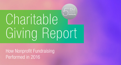 REPORT: 5th Annual Charitable Giving Report