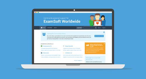 The ExamSoft Community