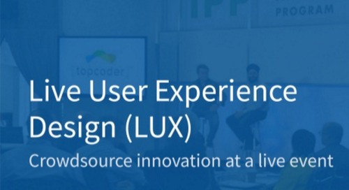 Live User Experience Design (LUX)