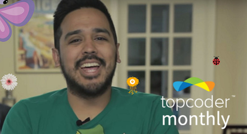 Topcoder Monthly – The Community Video Newsletter – June 2016