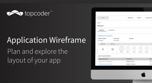 Application Wireframe