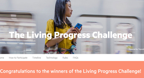Announcing the Winners of the Living Progress Challenge