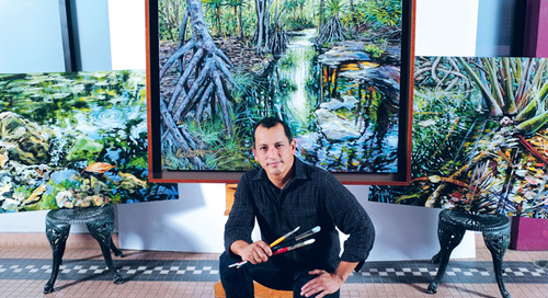 Passion for Painting and Guam