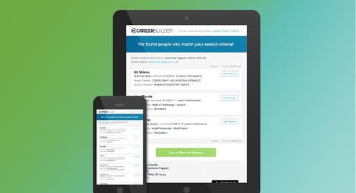enhanced user experience with careerbuilders resume search alert email - Careerbuilder Resume Search