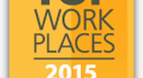 Reed Tech Named a 2015 Top Workplace for Fifth Year