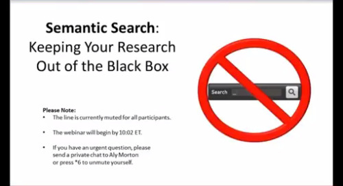 LexisNexis TotalPatent Semantic Search: Keep Your Search Out of the Black Box