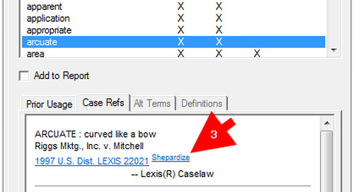 Did You Know? Using Case References