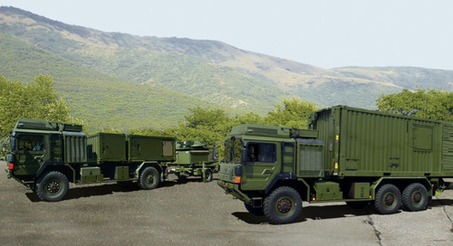 Mobile General Ground Station Makes NATO Summit Debut