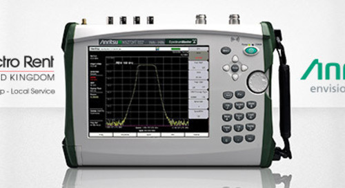 Anritsu Signs UK Distribution Agreement with Electro Rent