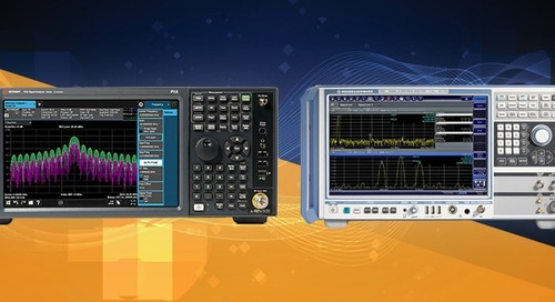 Measuring with Modern Spectrum Analysers