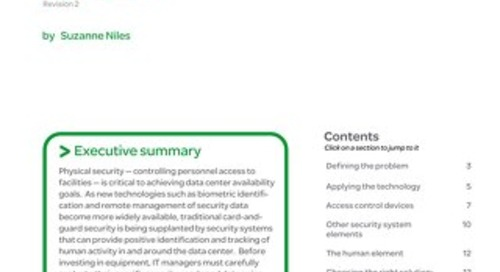 WP 82 - Physical Security in Mission Critical Facilities