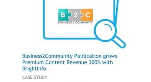 BrightInfo: B2C Case Study