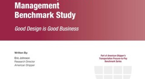 Global Transportation Management Benchmark Study