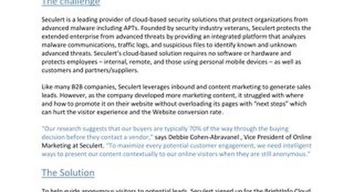 BrightInfo: Seculert Case Study