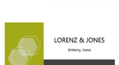 Shipping Pains? - Lorenz & Jones