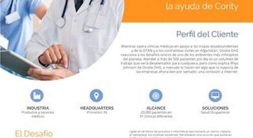 Onsite OHS: una implementación de software de salud ocupacional flexible