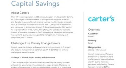 Planview Case Study Carters