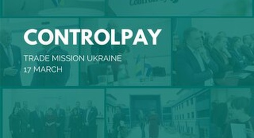 Minister visit ControlPay 2016