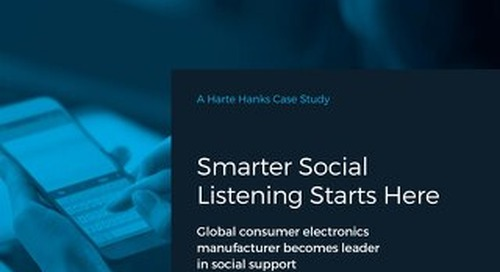 Global Consumer Electronics Manufacturer Becomes Leader in Social Support