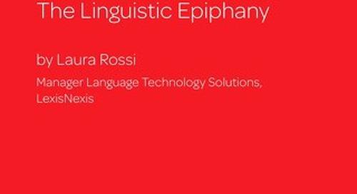 Machine Translation: The Linguistic Epiphany