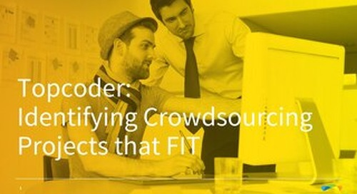 Identifying Crowdsourcing Projects that FIT