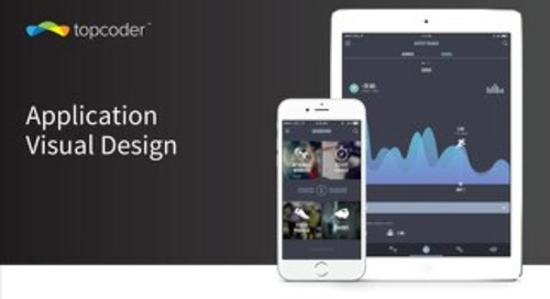 Topcoder Slide Presentation: Application Visual Design Crowdsourcing Competition