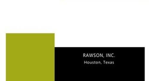Lessons Learned - Rawson, Inc.