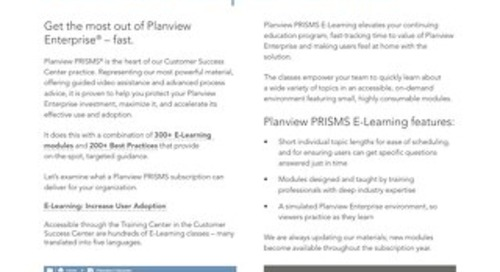 Planview PRISMS