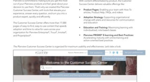 Intro to Customer Success Center