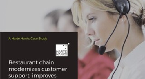 Contact Center: Restaurant Chain Improves Satisfaction with Modern Customer Support