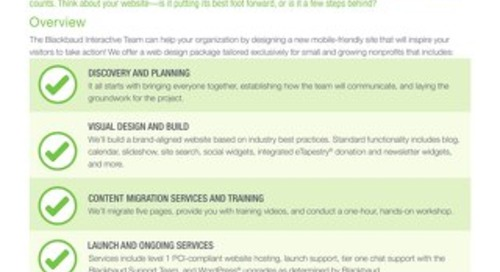 Web Design for Small & Growing Nonprofits