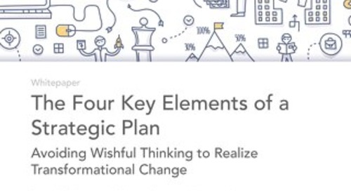 The 4 Elements of a Strategic Plan