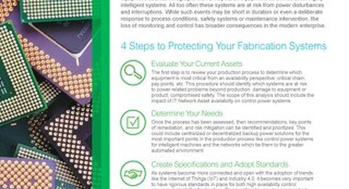 Ensuring Process Continuity in Your Semiconductor Fabrication