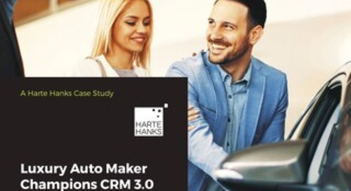 Luxury Auto Maker Champions CRM 3.0, Focuses on the Customer