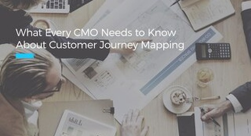 What Every CMO Needs to Know About Journey Mapping