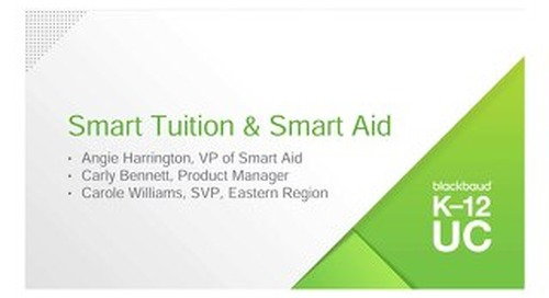 Smart Tuition and Smart Aid