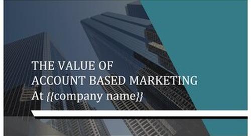 ABM Internal Selling Presentation