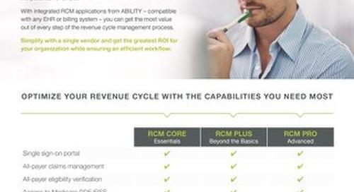 ABILITY RCM Bundles for Post-Acute Providers