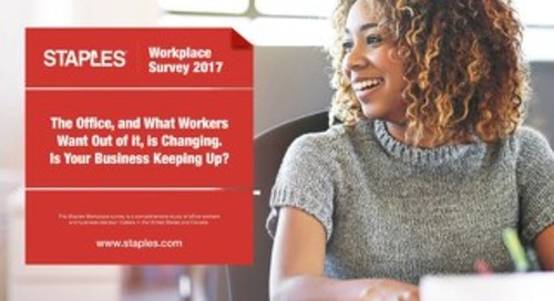 2017 Staples Workplace Survey