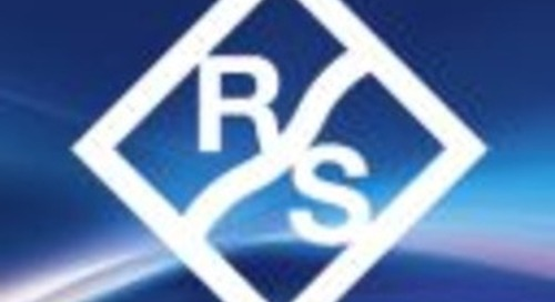 Rohde & Schwarz announces new test platform to help facilitate early release of NB-IoT devices