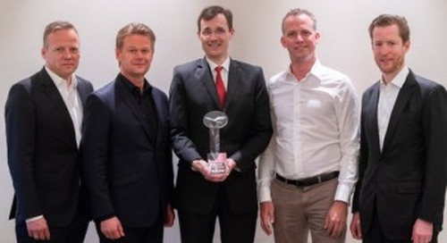 DHL Global Forwarding honored as top customer