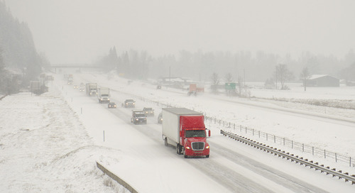 5 Tips for Truck Drivers for Safe Winter Driving