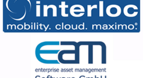 Interloc Solutions and EAM Software GmbH Announce Partnership Delivering Data Management Solution for IBM Maximo Asset Management