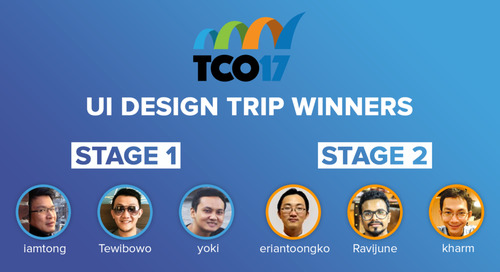 Congratulations: Some TCO17 Trip Winners Announced