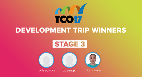 More TCO17 Trip Winners Announced!
