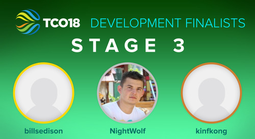 Congratulations to our TCO18 Stage 3 Finalists & Trip Winners