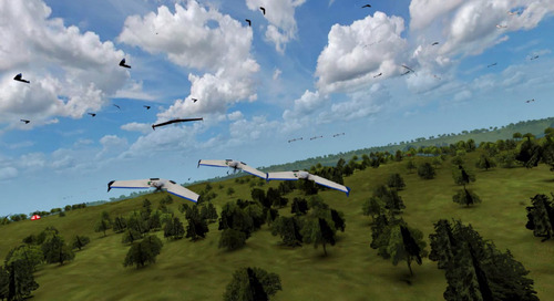 Topcoder and Booz Allen Hamilton Crowdsourcing Designs for Innovative Drone Use
