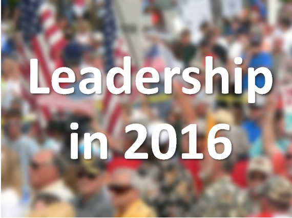 Leadership in 2016